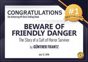 Best Seller Author Cult Abuse GG Frantz