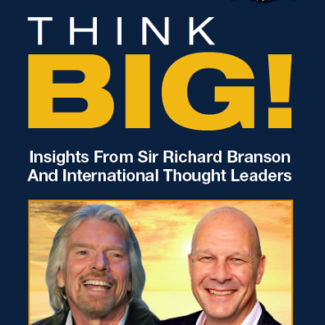 Richard Branson and GG Frantz